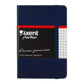 Книга записная Partner, 95х140 мм, 96 листов, клетка, синяя
