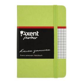 Книга записная Partner, 95х140 мм, 96 листов, клетка, салатовая