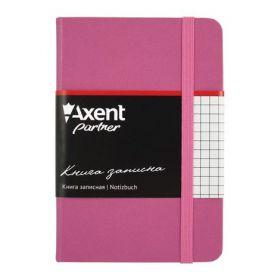 Книга записная Partner, 95х140 мм, 96 листов, клетка, пурпурная