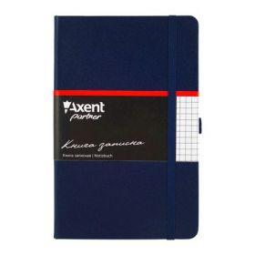 Книга записная Partner, 125х195 мм, 96 листов, клетка, синяя