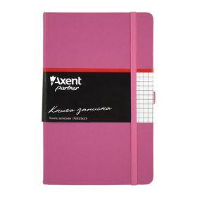 Книга записная Partner, 125х195 мм, 96 листов, клетка, пурпурная