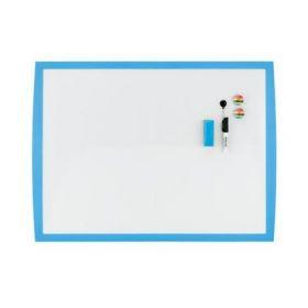 Доска магнитно-маркерная REXEL JOY  43х58,5 см, голубой