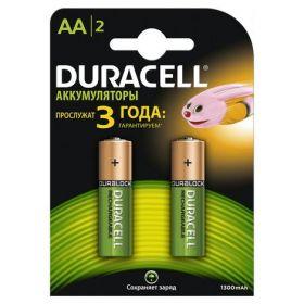 Аккумулятор DURACELL Basic (AA) 1300 mAh, 2 шт.