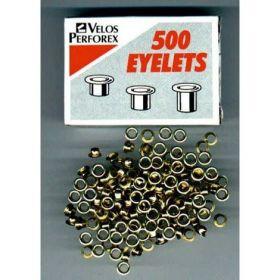 Заклепки (люверсы) 4.7 мм, золото, 500 шт
