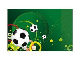 Подкладка для письма Футбол с карманом