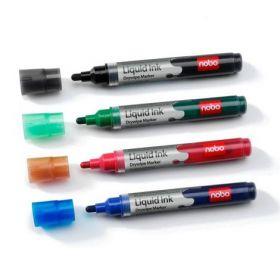 Набор маркеров для досокNOBOGlide, 2-4, 4 шт., ассорти