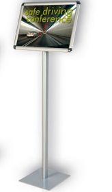 Информационная стойка А4 на подставкеClassic, горизонтальная