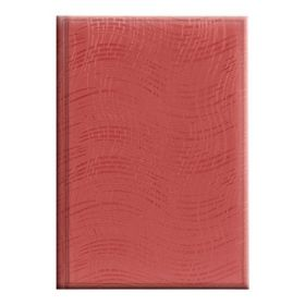 ЕжедневникнедатированныйАгендаWave,красный