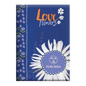 "ЕжедневникнедатированныйАгендаГрафоPrima Maria""Loveflowers"""