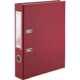 Папка-регистратор DeltaА4, 50 мм,PP,вишневая