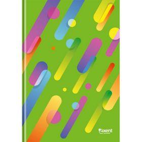 Книга записнаяА4,96 листов,клетка,зеленый, ColourRain
