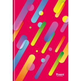 Книга записнаяА4,96 листов,клетка,красный, ColourRain