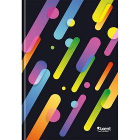 Книга записнаяА4,96 листов,клетка,черный, ColourRain