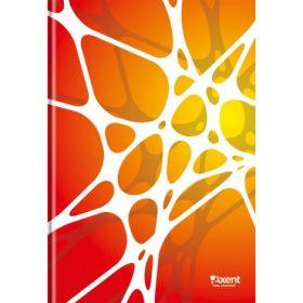 Книга записнаяА4,80 листов,клетка,УФ-лак,белый, Net