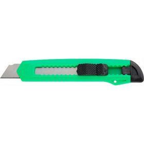 Нож канцелярский Delta,18 мм, зеленый