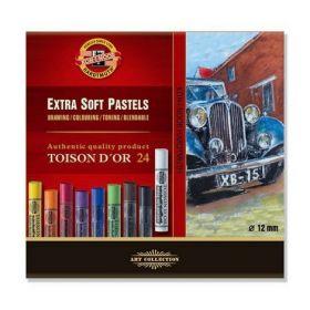 Пастельные мелки Toison D'or 8550, 24 цвета