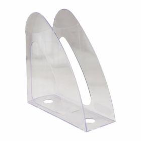 Лоток для бумаг вертикальный, прозрачный