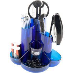 Набор настольный AxentCascade,9 предметов, синий