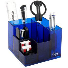 Набор настольный AxentCube,9 предметов, синий
