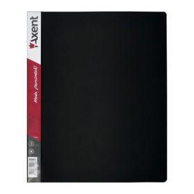 Папка на кольцах Axent А4, 35 мм, 4R, РР, черная