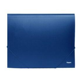 Папка на резинках Axent А4, 500 мкм, синяя