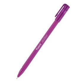 Ручка шариковаяMellow, 0.7 мм, синяя, фиолетовый корпус, полибэг