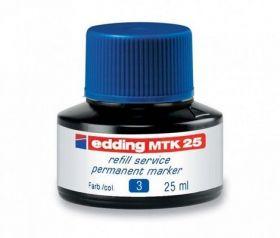 Чернила e-MTK25 для заправки перманентных маркеров, синий