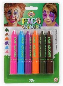Краски для лица Mixcolors, Koh-i-Noor, 6 цветов