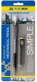 Карандаш механическийSIMPLE + сменные грифели, 0.7 мм, в блистере