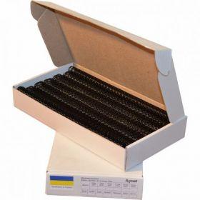 Металлическая пружина А432мм 2:1,черная, 50 шт