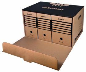 Короб для архивных боксов Front,коричневый