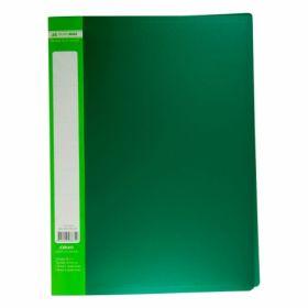 Папка с30файлами BuromaxА4,зеленый