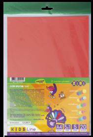 Набор бумаги цветной КРЕАТИВ, А4, 20 листов, 20 цветов