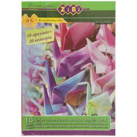 Картон цветной двухсторонний А4, 10 листов, 20 цветов