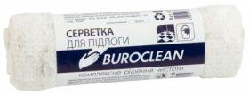 Салфетка для пола Buroclean, 50х70см, белая