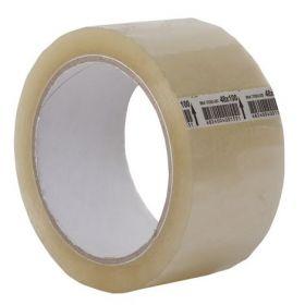 Скотч упаковочный JOBMAX 48мм х 100ярд, 40 мкм, прозрачный