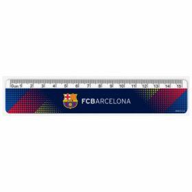 Линейка пластиковая, 15см, FC Barcelona