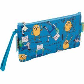 Пенал мягкий, 2 отделения, 664 Adventure Time