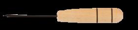 Шило канцелярское BUROMAX, деревянная ручка