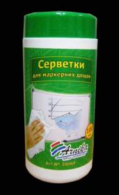Салфетки для очистки маркерных досок Арника, 100шт.