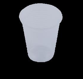 Стакан одноразовый Buroclean термостойкий 180 мл, прозрачный, 100 шт
