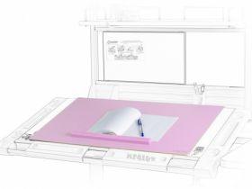 Подкладка для письма MealuxPAD-01РNEW 600х400 мм,розовая