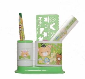 Набор настольный Evo-kids, 5 предметов, зеленый