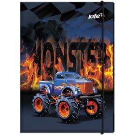 Папка для трудового обучения, А4, Monster Truck