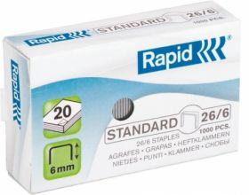 СкобыRapidStandard26/6, 1000 шт.