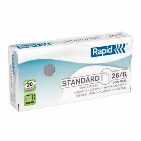 СкобыRapidStandard26/6, 5000 шт.