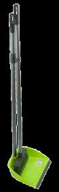 Совок и щетка на длинной ручке