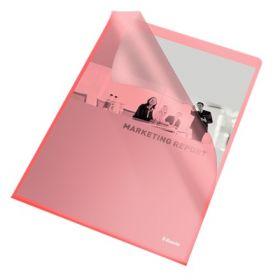 Папка-уголок Esselte Standard А4, 105 мкм, красная