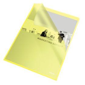 Папка-уголок Esselte Standard А4, 105 мкм, желтая