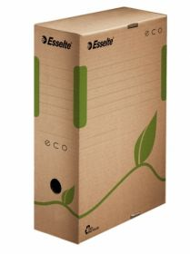 Бокс архивный Esselte Eco А4, 100 мм, крафт